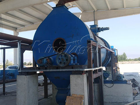 Kingtiger BST-50 Charcoal Making Machine Installed in Turkey