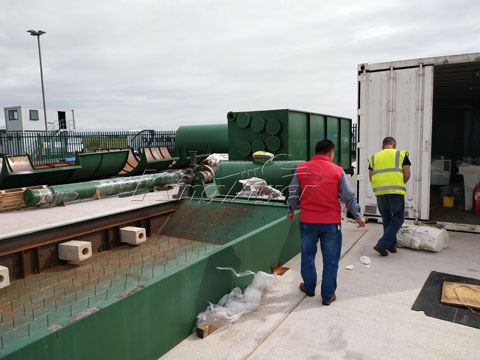Kingtiger Waste Pyrolysis Plant Setup in the UK