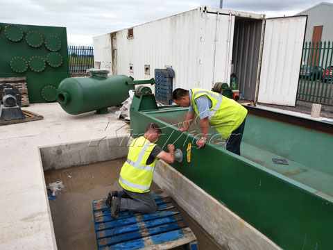 Kingtiger Waste Tyre Pyrolysis Plant Installed in the United Kingdom