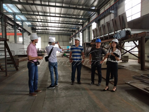 Lebanese Customers Came to Visit Kingtiger Factory
