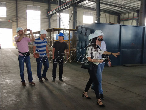 Lebanese customers in Kingtiger Factory