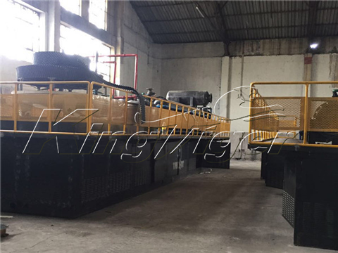 BLL-30 tyre recycling machine in South Africa