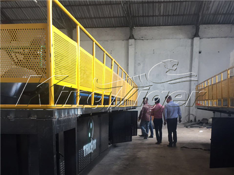 Kingtiger Waste Tyre Pyrolysis Plant in South Africa