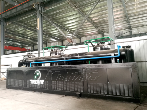 Plastic Waste Pyrolysis Plant for Sale