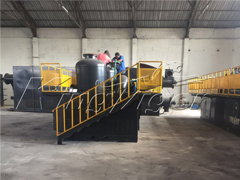 Tire Recycling Equipment in South Africa