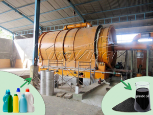 Waste Plastic2Oil Machine