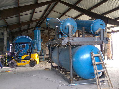 Waste Plastic2oil Pyrolysis Plant for Sale