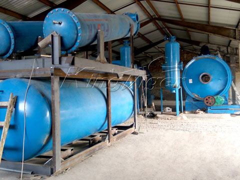 Waste Plastic2oil Pyrolysis Plant