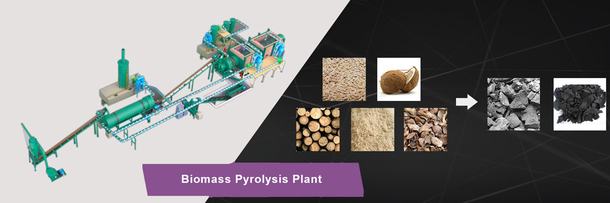Biomass Pyrolysis Plant for Sale | Biochar Pyrolysis