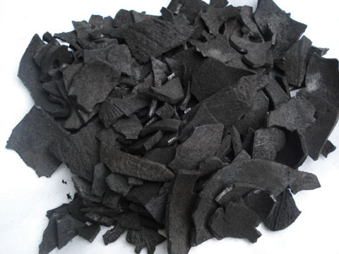 carbonized coconut shell