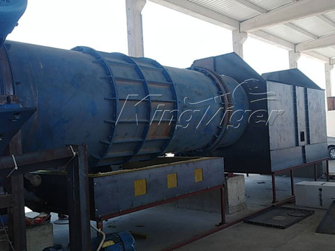 charcoal powder making machine