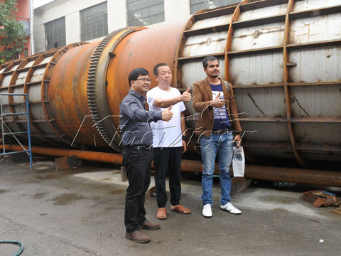 coconut shell recycling machine