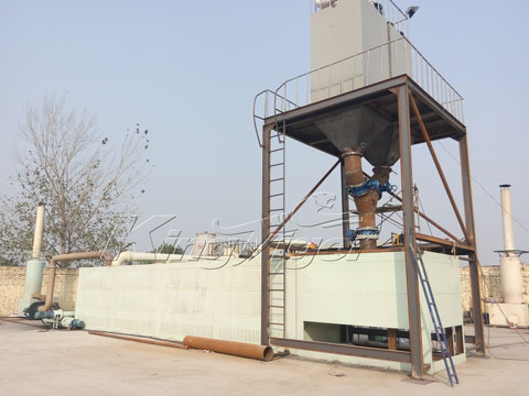 continuous plastic waste pyrolysis plant