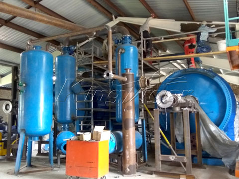 plastic to oil pyrolysis equipment