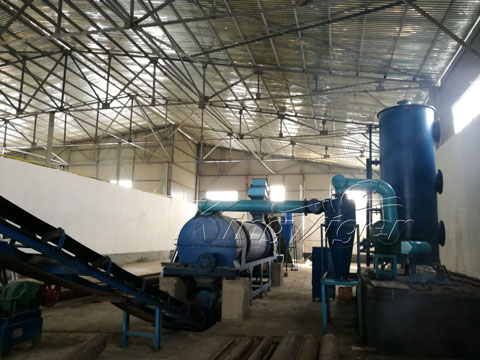 pyrolysis plant for biomass