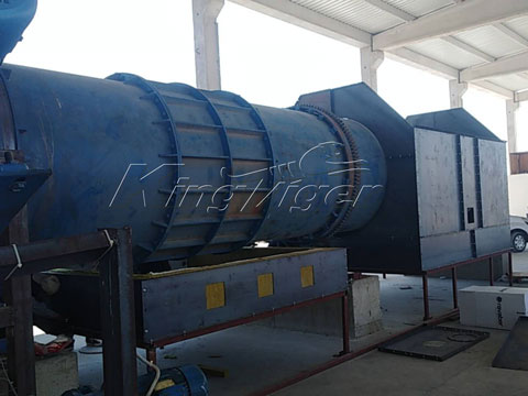 sawdust charcoal making machine in Turkey