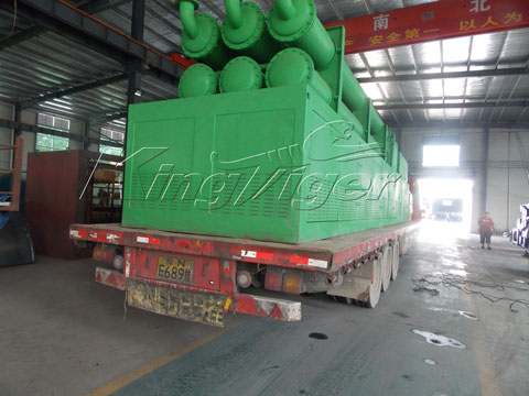tires to oil pyrolysis machine