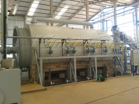 waste rubber recycling equipment