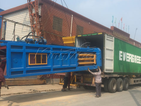 waste sorting plant to Hungary