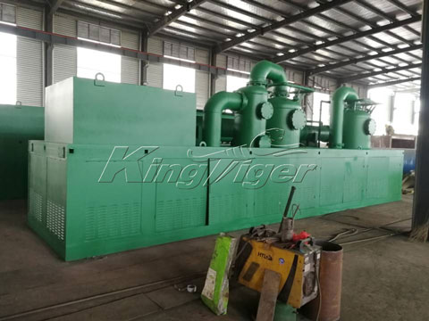 tire pyrolysis continuous plant