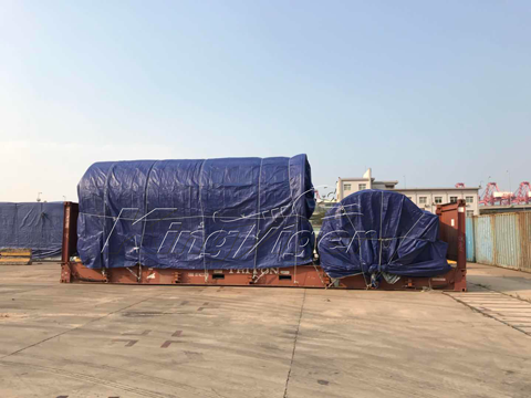 BLL-16 Solid Waste Pyrolysis Plant Shipped to South Africa
