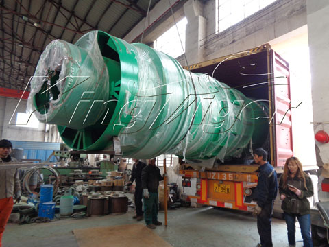 BST-50 Biomass Charcoal Making Machine Shipped to Spain