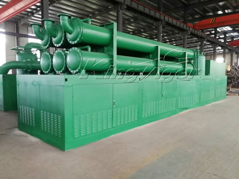 Continuous Waste Tyre Pyrolysis Plant in the Philippines