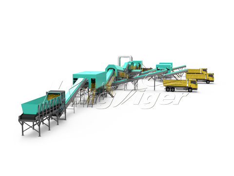 Waste Sorting Machinery Project