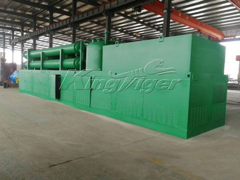 Automatic Plastic Pyrolysis Plant